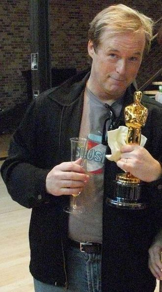 Brad Bird - Brad Bird with his second Academy Award for Best Animated Feature