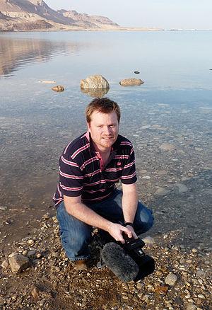 Brady Haran - Haran at the Dead Sea, 2013