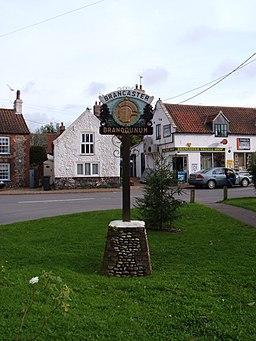 Brancaster village sign - geograph.org.uk - 265542