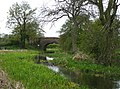 Bridge 3, Hatherton Branch Canal, Four Crosses, Staffordshire - geograph.org.uk - 788511.jpg