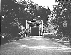 National Register of Historic Places listings in Venango County, Pennsylvania - Image: Bridge in Clinton Township