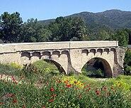 Bridge of Ponte Novu Corsica restaured