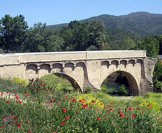 Battle of Ponte Novu - Image: Bridge of Ponte Novu Corsica restaured