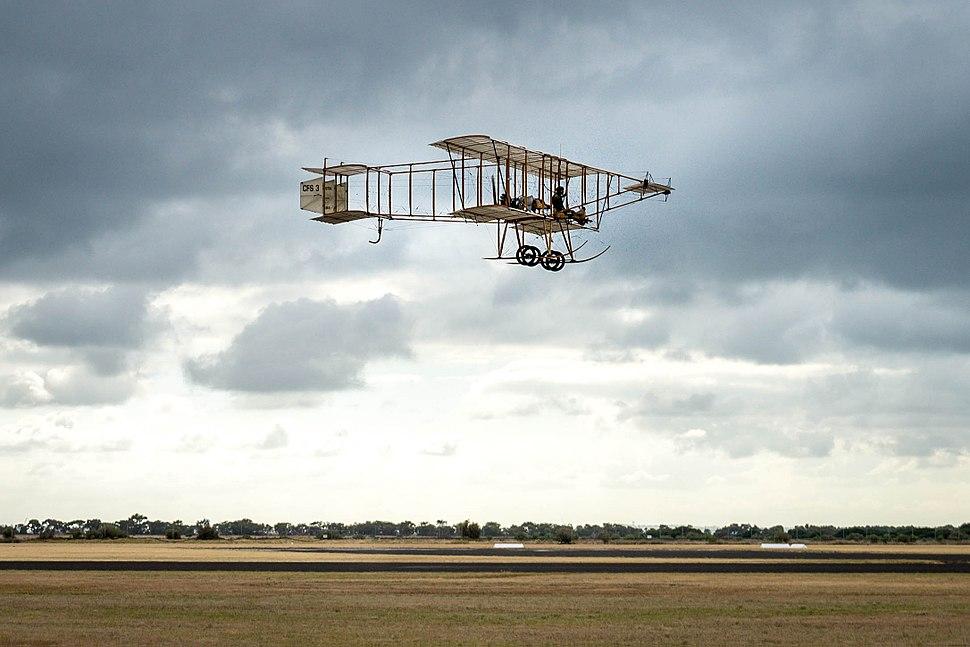 Bristol Boxkite Centenary Flight at Centenary of Military Aviation 2014 (1)