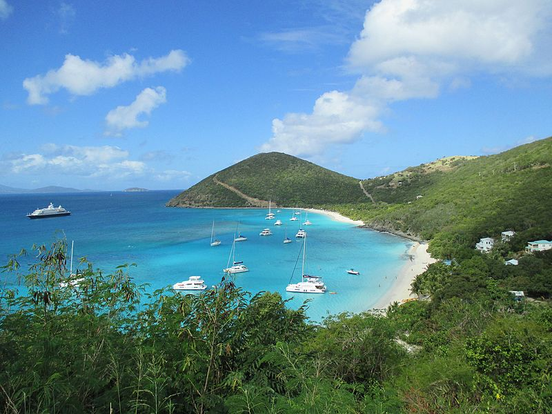 File:British Virgin Islands — Jost van Dyke — Great Harbour (view 2).JPG