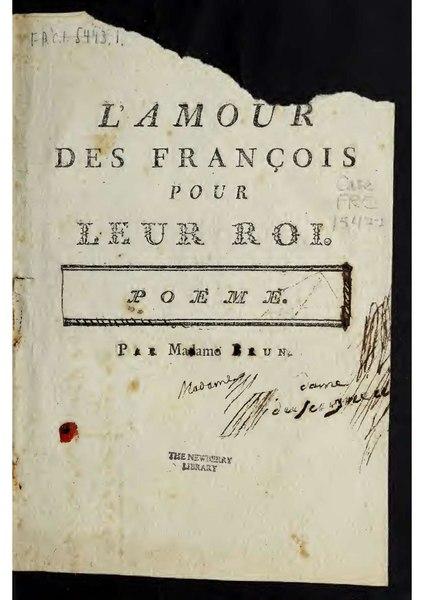 File:Brun - L'amour des françois pour leur roi.pdf