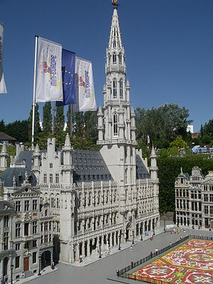 Mini-Europe - Brussels Square