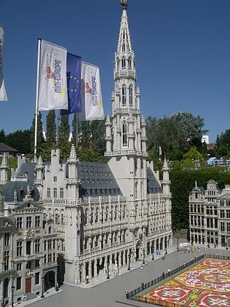 Mini-Europe - Brussels Square