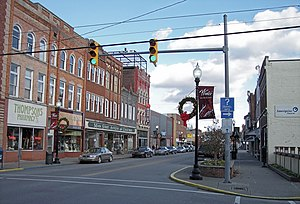 Buckhannon, West Virginia - East Main Street in Buckhannon in 2006