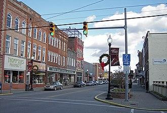 Buckhannon, West Virginia - East Main Street in Buckhannon in 2006