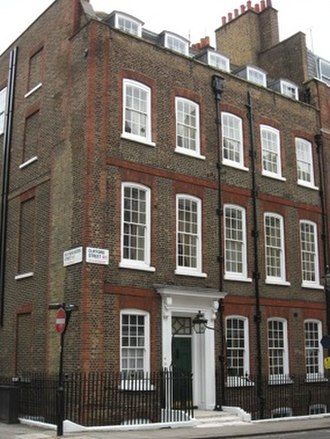 Drones Club - Buck's clubhouse at 18 Clifford Street, London, one of the clubs on which The Drones was based.