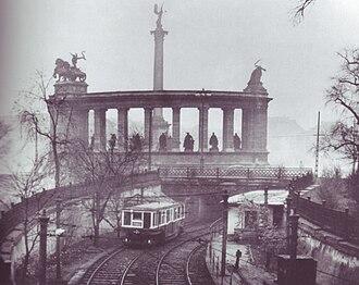 Budapest Metro - Millennium Underground old phase at Heroes' Square