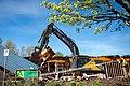 Building A demolition Chilliwack North-10 (25572338893).jpg