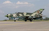 Bulgarian Air Force Mikoyan-Gurevich MiG-21bis Lofting-3