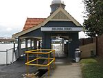 Bulimba Ferry Terminal (2009) - from land to wharf.jpg