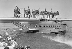 Die Dornier Do X 1930 auf dem Bodensee