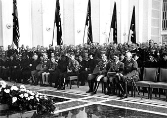 Walther Wever (general) - Walther Wever funeral