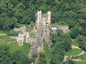 Rheinstein Castle - Image: Burg Rheinstein 01s