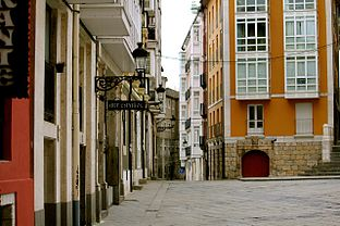 Burgos Historic Centre near the cathedral