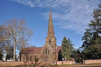 St. Mary's Episcopal Church, Burlington, New Jersey - New St. Mary's Church