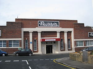 English: Burton's menswear factory Leeds (now ...