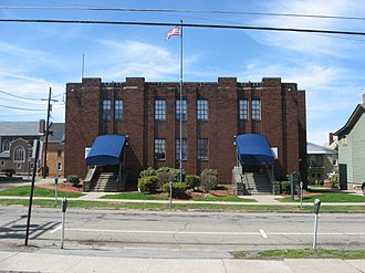 National Register of Historic Places listings in Butler County, Pennsylvania - Image: Butler Armory front