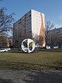 Butterfly sculpture and Plattenbau, 2021 Zugló.jpg