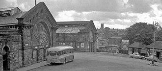 Buxton railway station - Image: Buxton railway station 1958012 9600359f