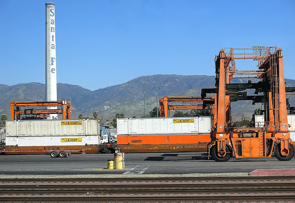 By Metrolink station, San Bernardino, CA
