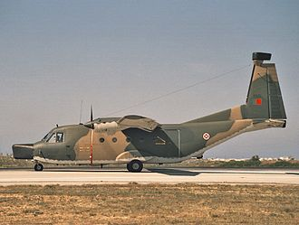 CASA C-212 Aviocar - Electronic counter measures equipped C-212-200 of the Portuguese Air Force (late 1980s)