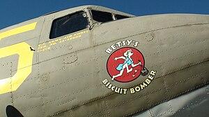 Estrella Warbird Museum - Image: C 47 Betsy's Biscuit Bomber Estrella