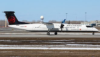 Air Canada Express - Air Canada Express Q400 In New Livery