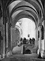 C.O. Zeuthen - Det søndre sideskib i domkirken i Lund, set mod koret - KMS520 - Statens Museum for Kunst.jpg