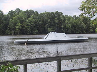 CSS Neuse - Replica of CSS Albemarle in 2003