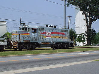 Caldwell County Railroad - Image: CWCY 1747