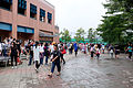 CWT40 Visitors Walking at Muddy Plaza 20150809.jpg