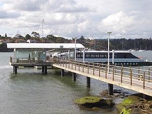 Cabarita ferry wharf - Wharf in September 2007