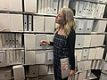 Caddie Brain explores artist boxes.jpg