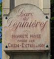 Caen NiceCaennais plaque.jpg