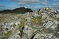 Cairn on the Aran ridge - geograph.org.uk - 1505442.jpg