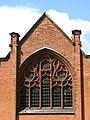 Caister cemetery chapel - east window - geograph.org.uk - 807647.jpg