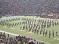Cal Band performing pregame at 2008 Big Game 10.JPG