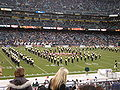 Cal Band performing pregame at 2008 Emerald Bowl 10.JPG