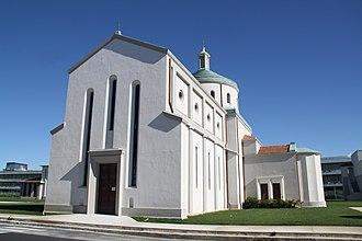 Calambrone - The church of Santa Rosa in Calambrone
