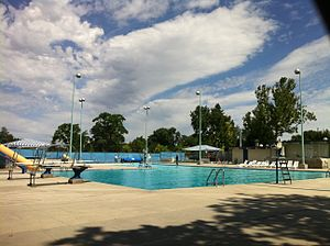 Caldwell, Idaho - The public pool in Caldwell, Idaho