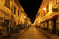 Calle Crisologo, Vigan at night.jpg