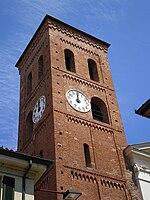 San Mauro Torinese: Campanile della chiesa di Santa Maria di Pulcherada