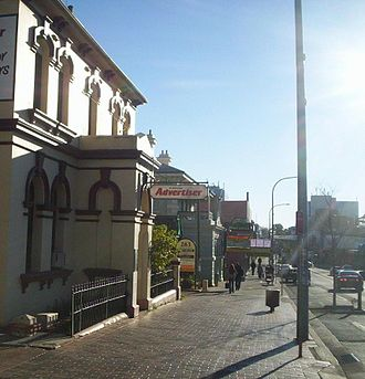 Campbelltown, New South Wales - Queen Street in Campbelltown