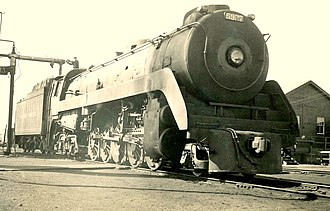 2-10-4 - Canadian Pacific T1b, 1957