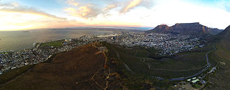 City Bowl - Image: Cape Town City Aerial